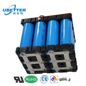 Rechargeable 18650 14.8V 6000mAh Lithium Battery for Medical Apparatus pictures & photos