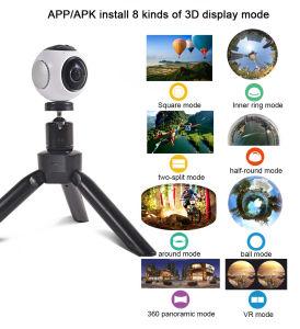 WiFi 360 Degree Panoramic Camera 1920X1080 60fps Wireless Vr Camera