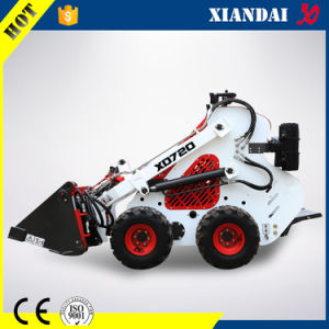 Mini Skid Steer Loader with Snow Blower and Lawn Mower pictures & photos