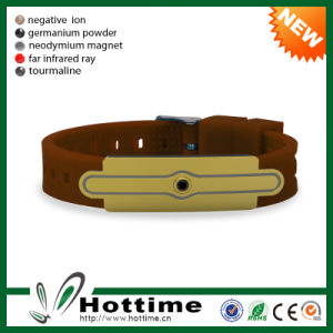 Top Quality Negative Ion Energy Cheap Customize Powerful Bracelet (CP-JS-ND-010) pictures & photos