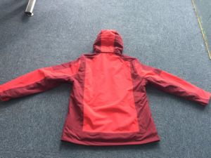 Women′s Heated Mountain Jacket, Fever Jacket, Winter Jacket, 100% Nylon Taslon Jacket pictures & photos