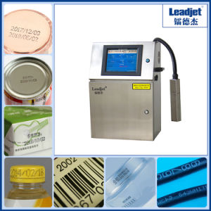 Automatic Continuous Inkjet Coding Machine for Carton PVC pictures & photos