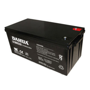 Dahua 12V 200ah Deep Cycle Solar Battery for Solar Systems pictures & photos