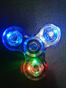 Transparent Spinner Toys pictures & photos