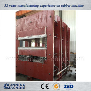 Steam Heating Vulcanzing Press Machine for Rubber Mat pictures & photos