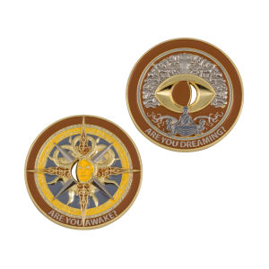 High Quality Customized Commemorative Events Coin Gift Gold Game Holder pictures & photos