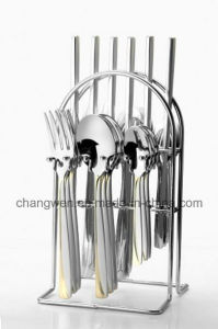 72PCS Stainless Steel Tableware Set pictures & photos
