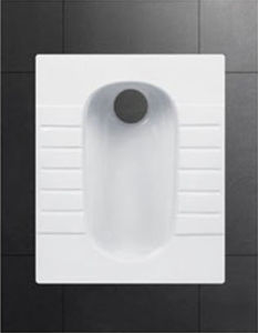 Hot Sale Bathroom Ceramic Toilet Squat Pan