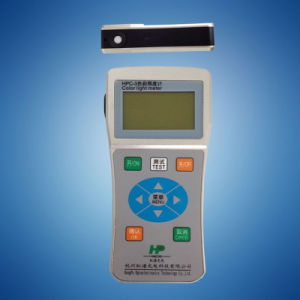 Hpc-2 LED Portable Colorimeter Digital Handheld Spectrometer Measuring CCT CRI pictures & photos