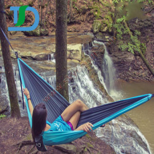New Style Travel Nylon Hammock for Hiking pictures & photos