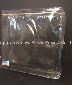 PVC Zipper Bag for Packing Garment Apparel Packaging Bag pictures & photos