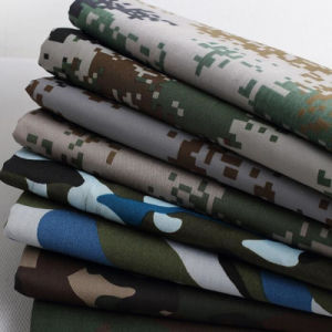 Camouflage Printinged Waterproof 600d/PU Fabric for Tents! pictures & photos