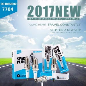 Bd Baudo 7704 Large Capacity Wholesale Price Spark Plug OEM Accepted Ngk Nice Replacement pictures & photos
