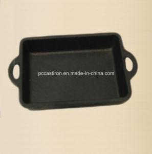 Preseasoned Cast Iron Mini Servering Pan Size 22X15cm pictures & photos