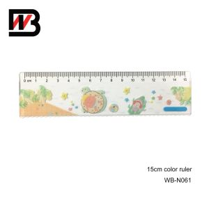 15cm Office Plastic Ruler for Office Stationery