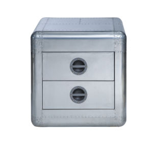Aviator Aluminum with Two Drawers Side Table, Corner Table, Night Stand Rtk-61 pictures & photos