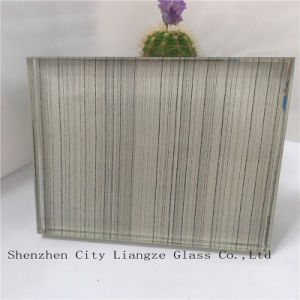 10mm+Colorful Silk+5mm Mirror Laminated Glass/Safety Tempered Glass/Art Glass for Decoration pictures & photos