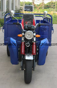 Hydralic Dumper 3 Wheel Tricycle with Cargo pictures & photos