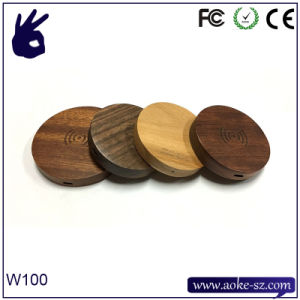Wooden Universal Wireless Charger for Samsung Galaxy Edge S6 Edge Plus Active Note 5 Nexus 4/5/6 LG and All Qi-Enabled Devices pictures & photos