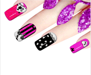 Fashionable 3D Cute Temporary Water Transfer Nail Sticker pictures & photos
