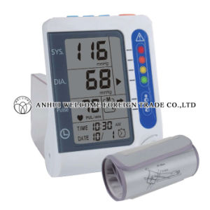Electronic Blood Pressure Monitor Upper Arm Type pictures & photos