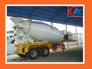 China Foton 4X2 Small 4m35m3 Concrete Cement Mixer Truck pictures & photos
