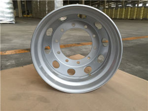 Steel Alloy Wheel Rims Auto Parts for Heavy Truck pictures & photos