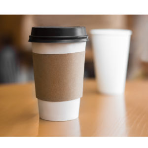 Kraft Coffee Paper Cups Custom Logo Printed Disposable pictures & photos