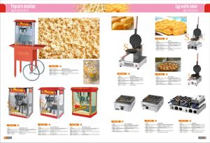Hot Sale Commercial Electric Popcorn Machine for Wholesale pictures & photos