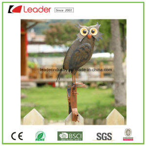 New Colorful Metal Cock Figurine with Multi-Functional Clamp Garden Ornament for Fence and Outdoor Decoration pictures & photos