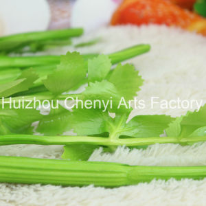 PU Green Celery Artificial Vegetables pictures & photos