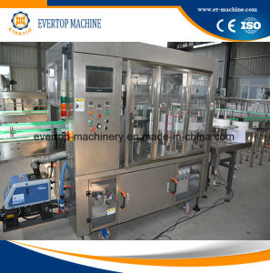 Auto Sleeve Shrinking Labeling Machine Drinking Production Line pictures & photos