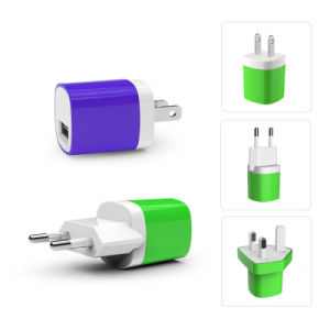 DC 5V 1A USB Travel Charger for iPhone pictures & photos