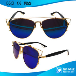 Innovative Magnetic China Sunglasses Manufactures Retro Sunglasse pictures & photos
