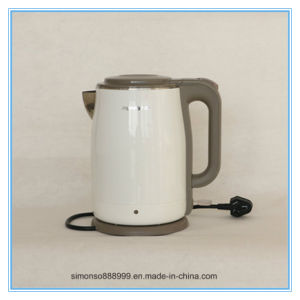 New Design 220V Stainless Steel Electric Kettle pictures & photos