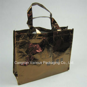 Metallic Non Woven Shopping Bag (BG1089) pictures & photos
