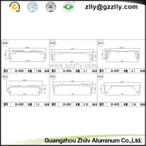 Construction Material Aluminum Profiles Motor Aduio Radiator pictures & photos