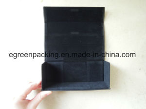 Black Square Sunglasses Foldable/Fold Case (EH45) pictures & photos
