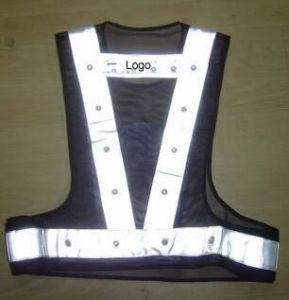Fashion LED Reflective Vest pictures & photos