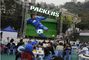 Ultra-Thin Super-Light Indoor/Outdoor Advertising LED Display for P5 Rental Field pictures & photos