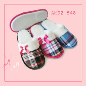 2017 New Winter Comfort Foot Warmers Plush Indoor Soft Slippers pictures & photos