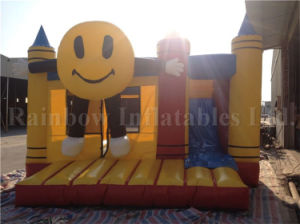 Commercial Smile Bouncer/ Bouncer Inflatable Trampoline/ Inflatable Pencil Bouncer for Sale pictures & photos