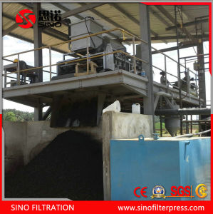 Sludge Dewatering Stainless Steel Belt Type Filter Press Machine pictures & photos