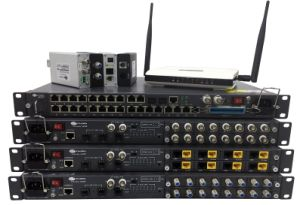 Coax Switch Eoc Master Over Ethernet Over Phone Line/Coax pictures & photos
