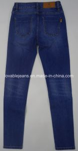 10oz Vintage Ladies Jeans (HYQ51-02S) pictures & photos