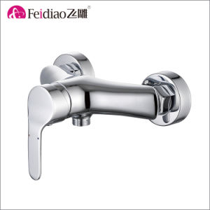 Low Price Chrome Plated Brass Single Handle Kitchen Mixer Faucet pictures & photos