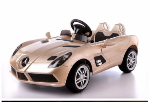 Rr-660158-Licensed Mercedes Benz SLR 12V Big Kids Ride on Car with Leather Seat Music and Light 2.4G RC EVA Wheel pictures & photos