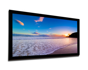 Permanent Fixed-Frame Prestige Curved Screen with Front Projection pictures & photos