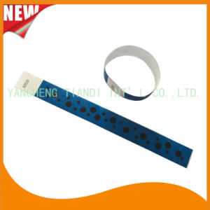 Tyvek Entertainment Custom Party VIP Paper ID Wristbands (E3000-1-67) pictures & photos