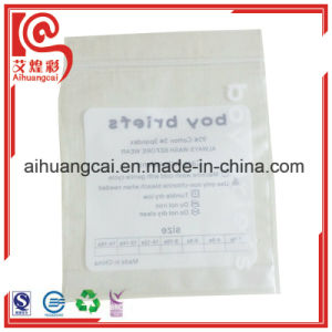 Cosmetic Bag Plastic Bag Side Seal Food Bag pictures & photos
